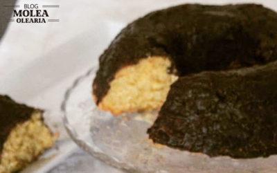 Bizcocho de chocolate con aceite de oliva