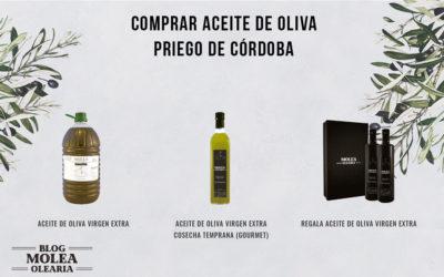 COMPRAR ACEITE DE OLIVA DE PRIEGO DE CÓRDOBA.